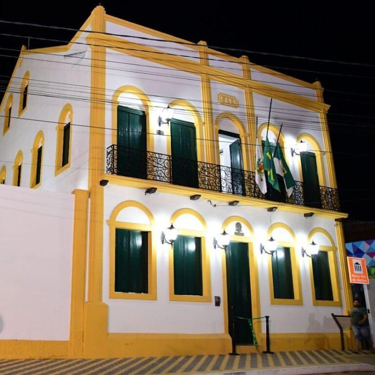 Horário de funcionamento do Museu Histórico de Martins