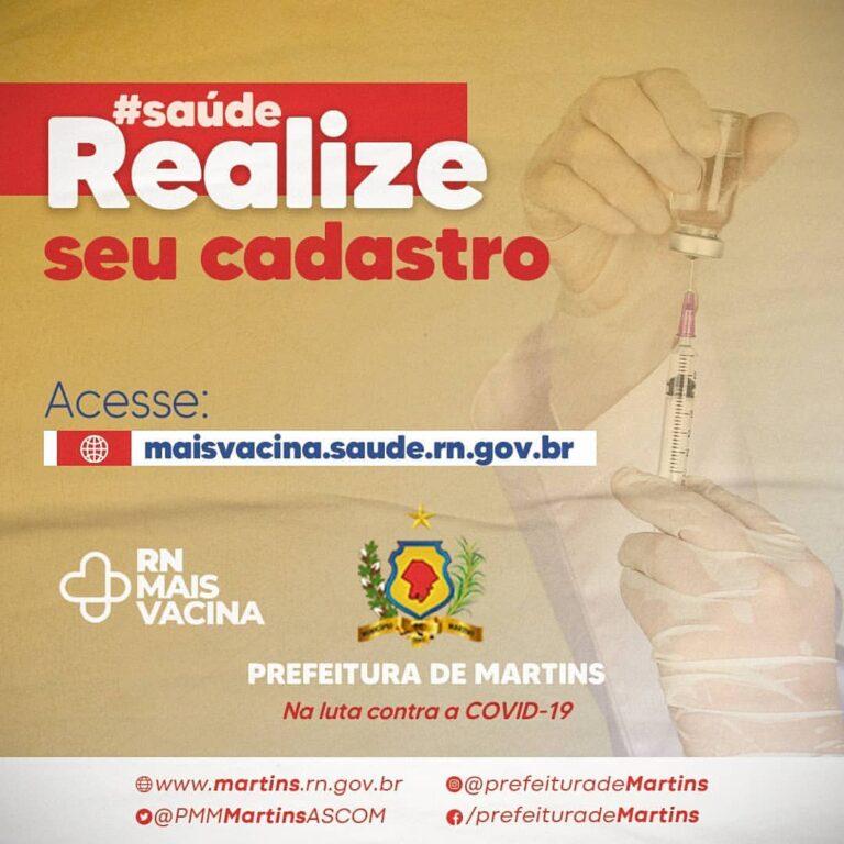 Realização para cadastro de vacinas