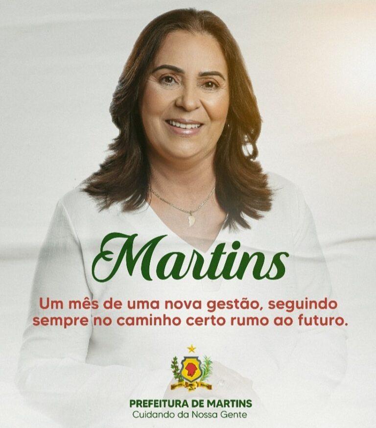 PREFEITURA DE MARTINS Cuidando da Nossa Gente