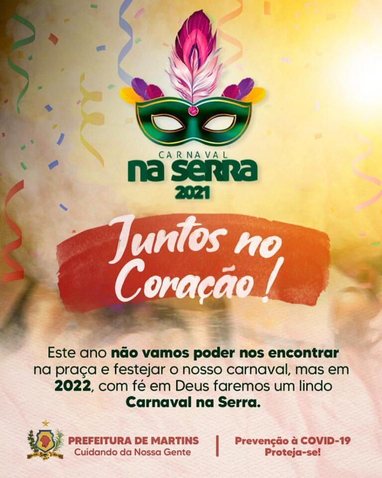 Carnaval 2021: Juntos no coração