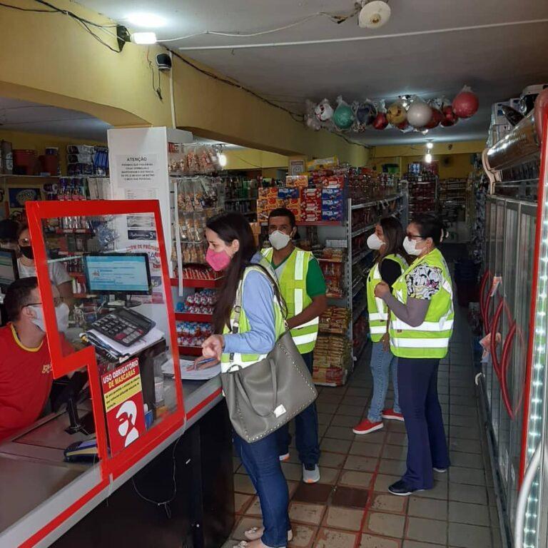 Vistoria em Supermercados, Mercadinhos, Lojas, Bares, Espetinhos, Restaurantes, Mirantes e similares