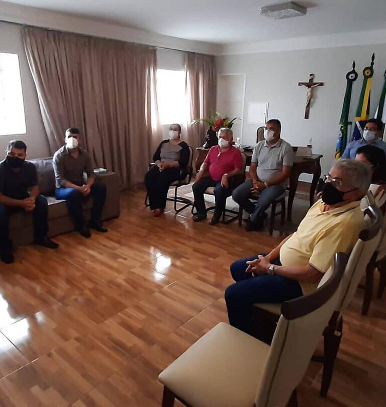 Read more about the article Reunião com Secretários, Controlador, Setor Jurídico, Assessoria de Comunicação e membros de outras áreas