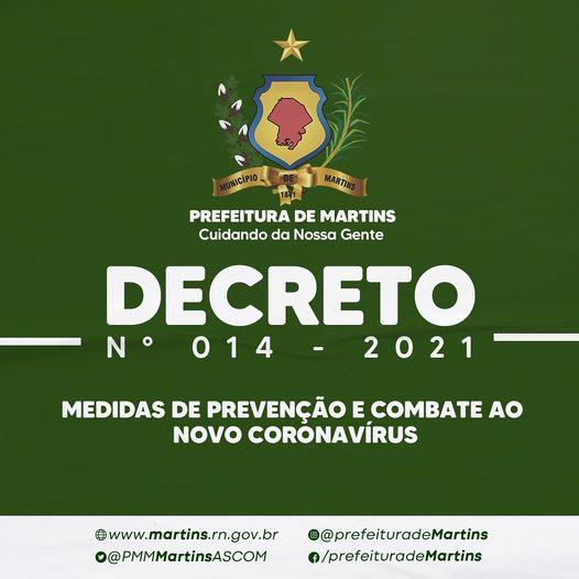 Decreto N° 014 – 2021