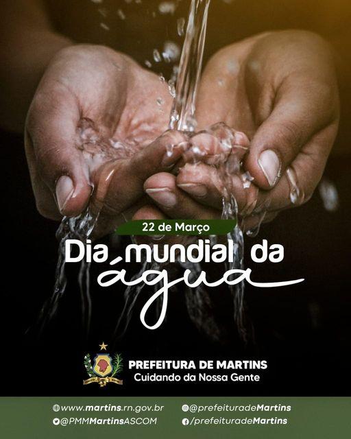 Read more about the article Dia mundial da água