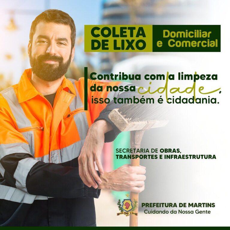 Read more about the article SECRETARIA DE OBRAS, TRANSPORTES E INFRAESTRUTURA DE MARTINS.