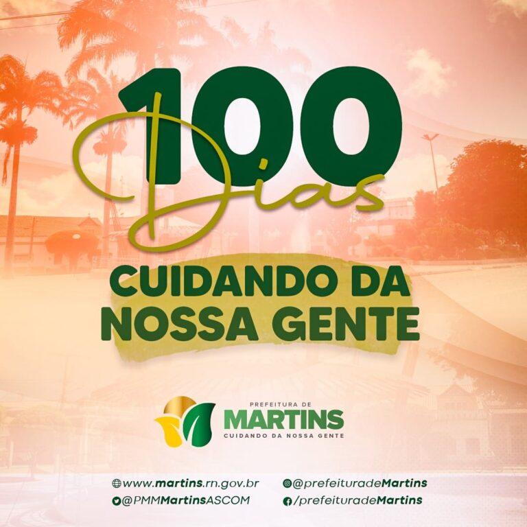 100 dias de gestão municipal