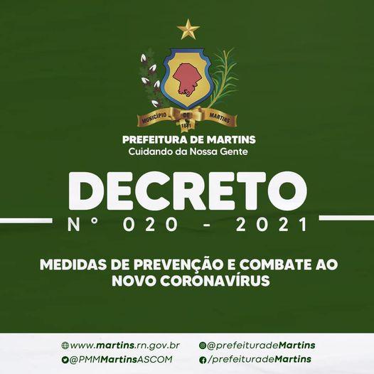 Decreto – n° 020 – 2021