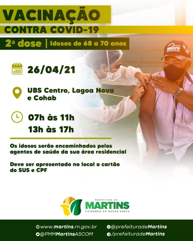 Vacinação contra a COVID-19
