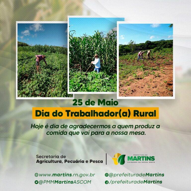 25 DE MAIO – DIA DO TRABALHADOR(A) RURALO DIA DO TRABALHADOR(A) RURAL