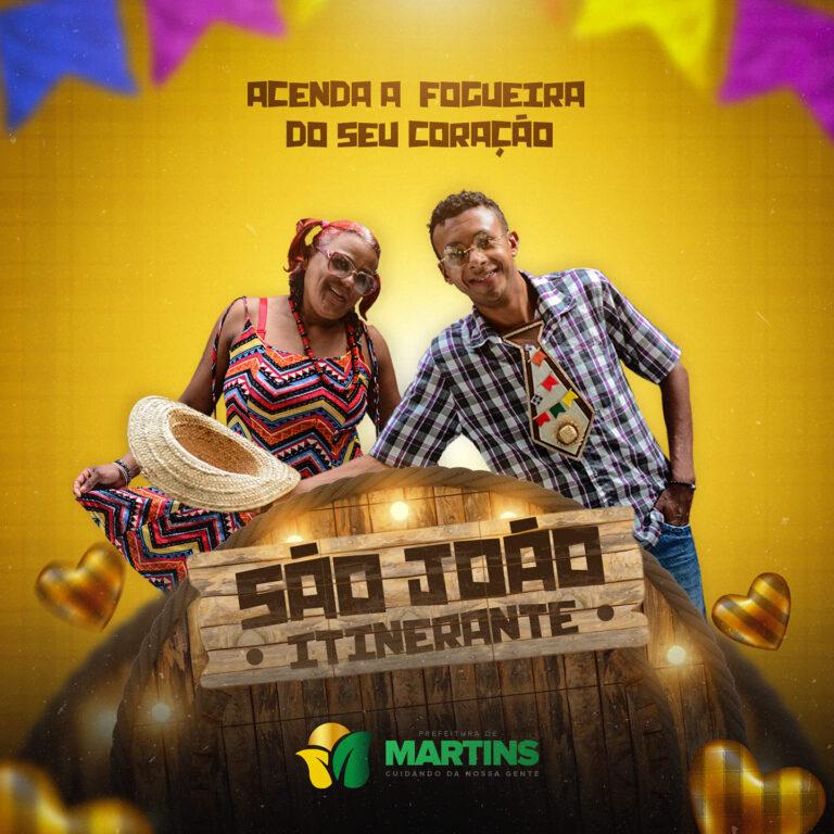 Read more about the article Vem aí o São João da Prefeitura de Martins.