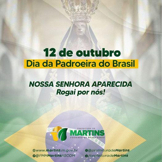 12 de outubro – Dia da Padroeira do Brasil