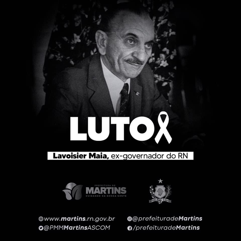 Luto – Lavoisier Maia